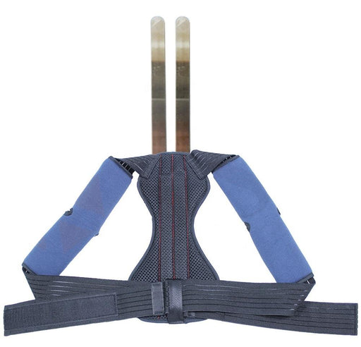 Posture corrector with two metal springs Corpofix Y17-M, double grip design
