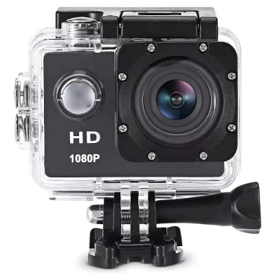Action camera Furibee F80 1080P HD accessories