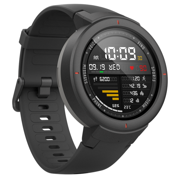 Xiaomi Huami Amazfit Verge Smart Watch, GPS, Bluetooth, Waterproof, 512MB RAM, 4GB ROM, Heart Rate