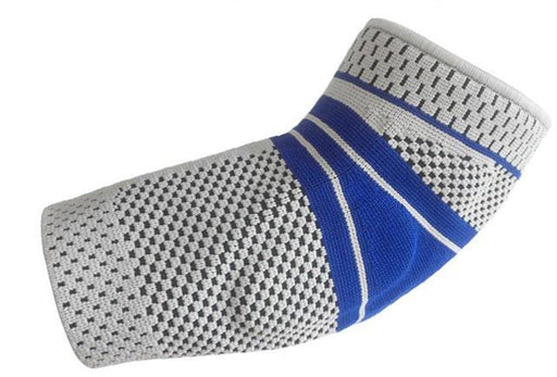 Supporting tightening elbow pad from a breathable fabric Corpofix JD-H04