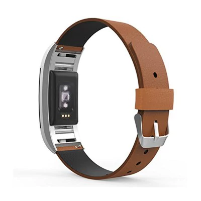Thin leather strap Fitbit / Fitbit Charge 2