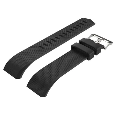 Black silicone strap Fitbit / Fitbit Charge 2