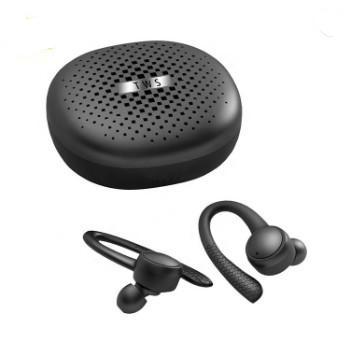 RQ18 Bluetooth Wireless Headset, Power Bank, Hook Type Hook for Stable Wearing