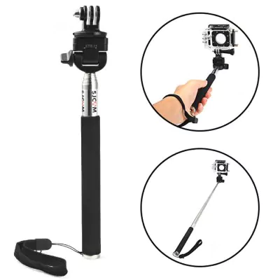 Original SJCam Folding selfie stick action camera GoPro Hero Series, SJCam and Xiaomi