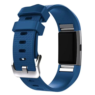 Blue silicone strap Fitbit / Fitbit Charge 2