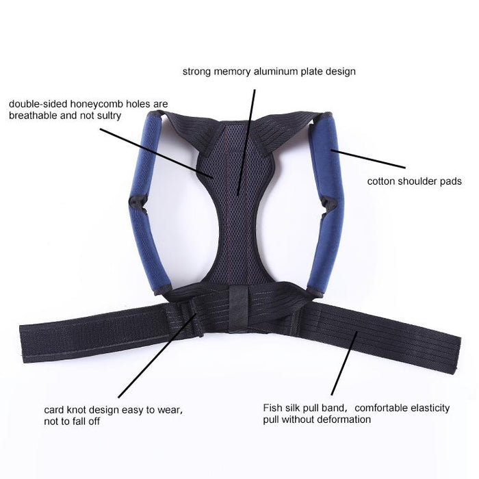 Medical Posture Corrector with metal spring Corpofix Y17, double grip design