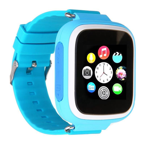 Children smart watch SQ80, a real GPS chip tracker, SOS button, positioning on Google maps