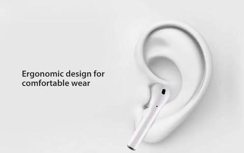 Wireless Earphones i14-RX TWS Bluetooth 5.0, touch control, 3D sound