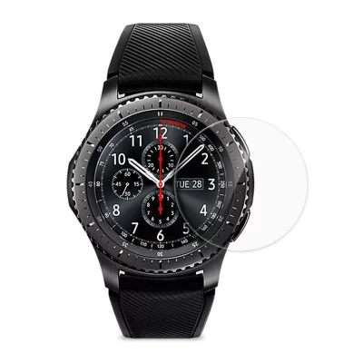 Hat-Prince Glass Screen Protector for Samsung Gear S3 Frontier / Classic