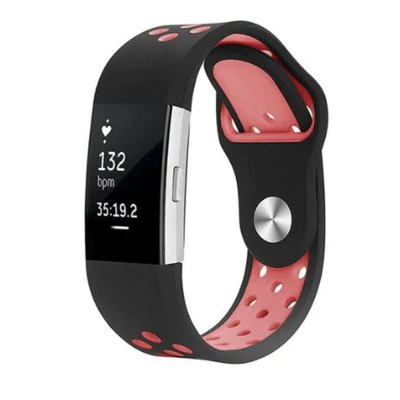 Two-tone breathable silicone strap Fitbit / Fitbit Charge 2