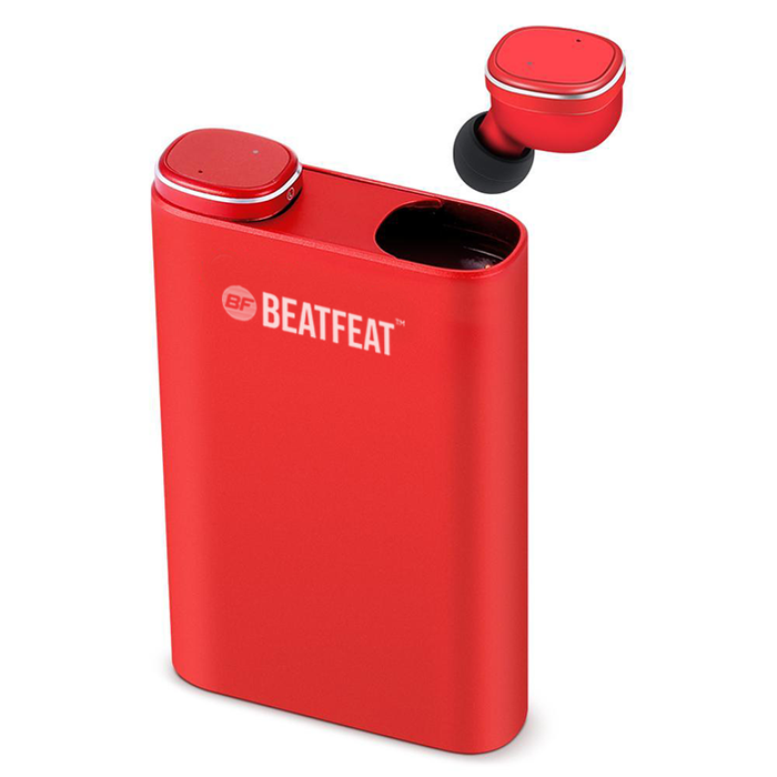 BeatFeat RX9 Bluetooth 5.0 Wireless earphones, 2100mAh Powerbank case, 3D Stereo
