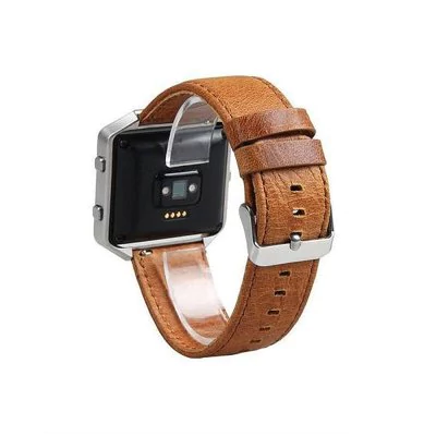 Leather strap with a framework for Fitbit / Fitbit Blaze