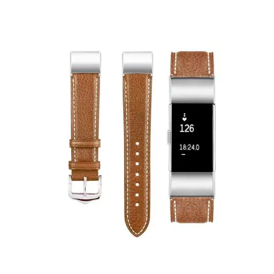 Leather strap Fitbit / Fitbit Charge 2