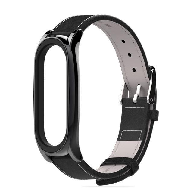Leather strap Xiaomi Mi Band 3 / Mi Band 4