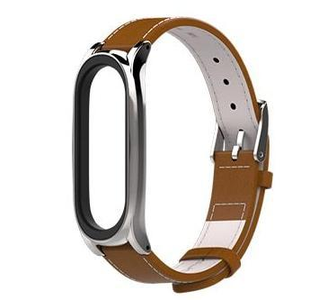 Leather strap for Xiaomi Mi Band 3