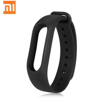 Original Xiaomi black breathable sweat-resistant leash for Xiaomi Mi Band 2