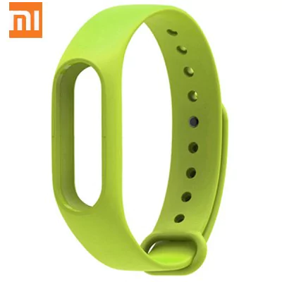 Original Xiaomi green breathable sweat-resistant leash for Xiaomi Mi Band 2