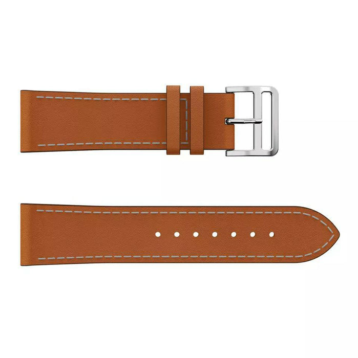 Leather strap with double clasp Fitbit / Fitbit Versa