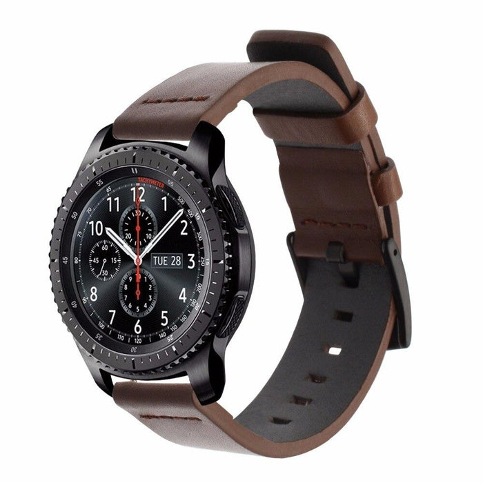 Classic leather strap for Samsung Gear S3 Frontier / Classic