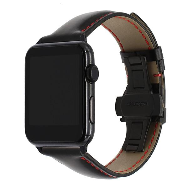 Leather strap from Italian leather for Apple Watch 5/4/3/2/1 42mm