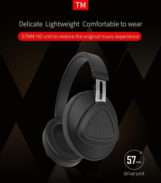 Wireless headphones Bluedio TM, 30 hours, microphone, Bluetooth 5.0