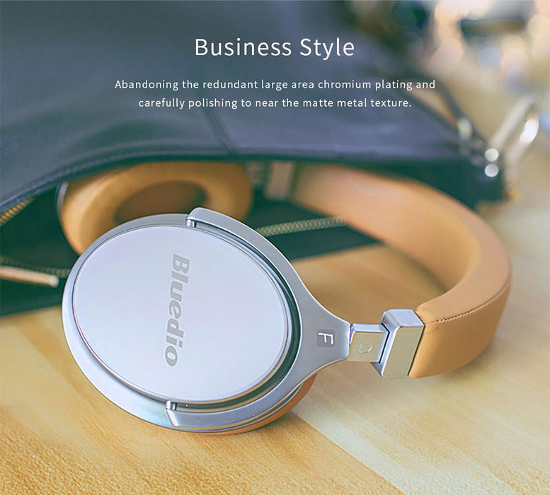 Wireless headphones Bluedio F2, Active Noise Canceling, Bluetooth Stereo
