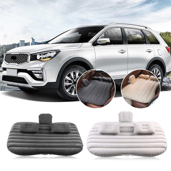 Inflatable mattress car rear seat