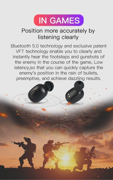 Bluedio T-elf Wireless bluetooth headset TWS stereo microphone with Powerbank