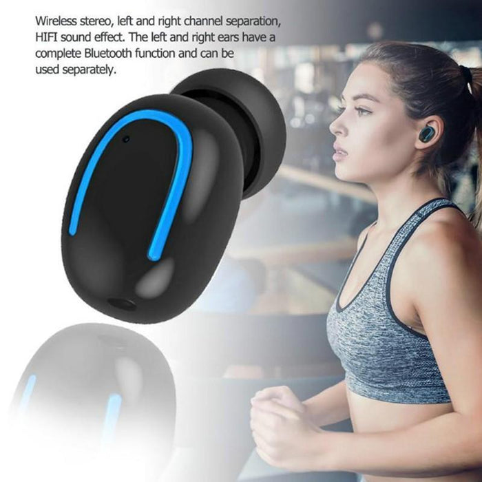 Bluetooth wireless headset SR22 with  Power bank 1500mAh, perspiration and rain resistant