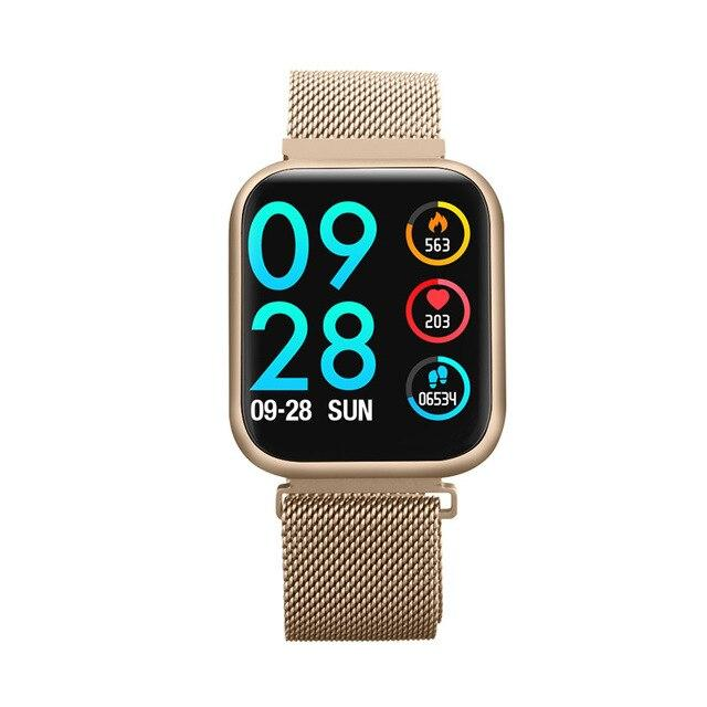 Smart watch P80, Waterproof IP68, iOS Android