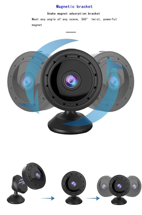 Mini camera 1080P Wifi IP infrared, night vision, motion sensor, SD card