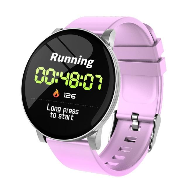 Smart watch Vektros W8 Fitness Tracker, pulse, blood pressure, blood oxygen, sleep quality, Metal shell, Waterproof