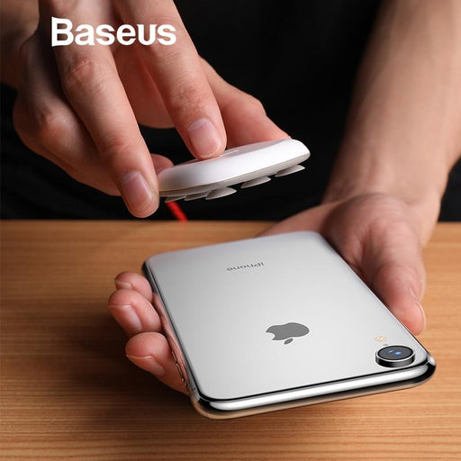 Baseus Spider wireless charger vacuum for iPhone, Samsung, Huawei and others.