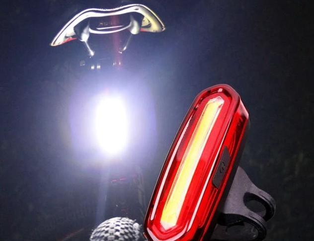 Zadna bicycle light Waterproof Rechargeable