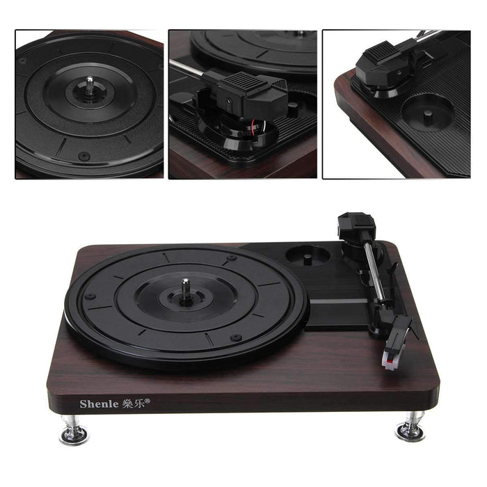 Portable digital turntable, 3.5 mm USB output