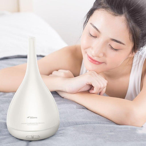 Air humidifier Xiaomi Deerma function of aromatherapy lamp change 7 colors