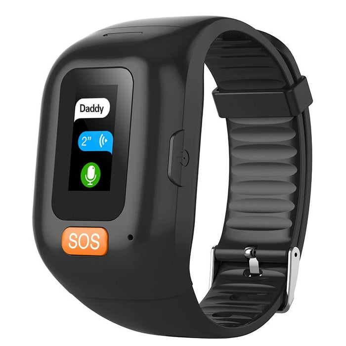 Waterproof smart bracelet Vektros VS28, SOS button, GPS, Heart Rate