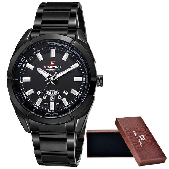 Waterproof male quartz watch NAVIFORCE 9038
