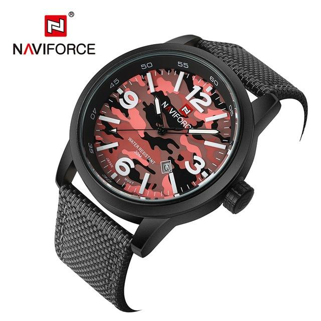 Waterproof male quartz watch NAVIFORCE 9080