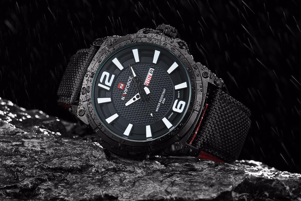 Waterproof men's watch NAVIFORCE 9066