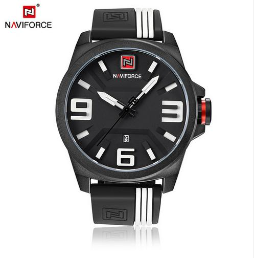 Waterproof male quartz watch NAVIFORCE 9098