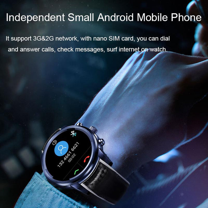 A smart watch with a slot for a SIM card LEMFO LEM5 Pro Android 5.1 2GB + 16GB GPS WiFi