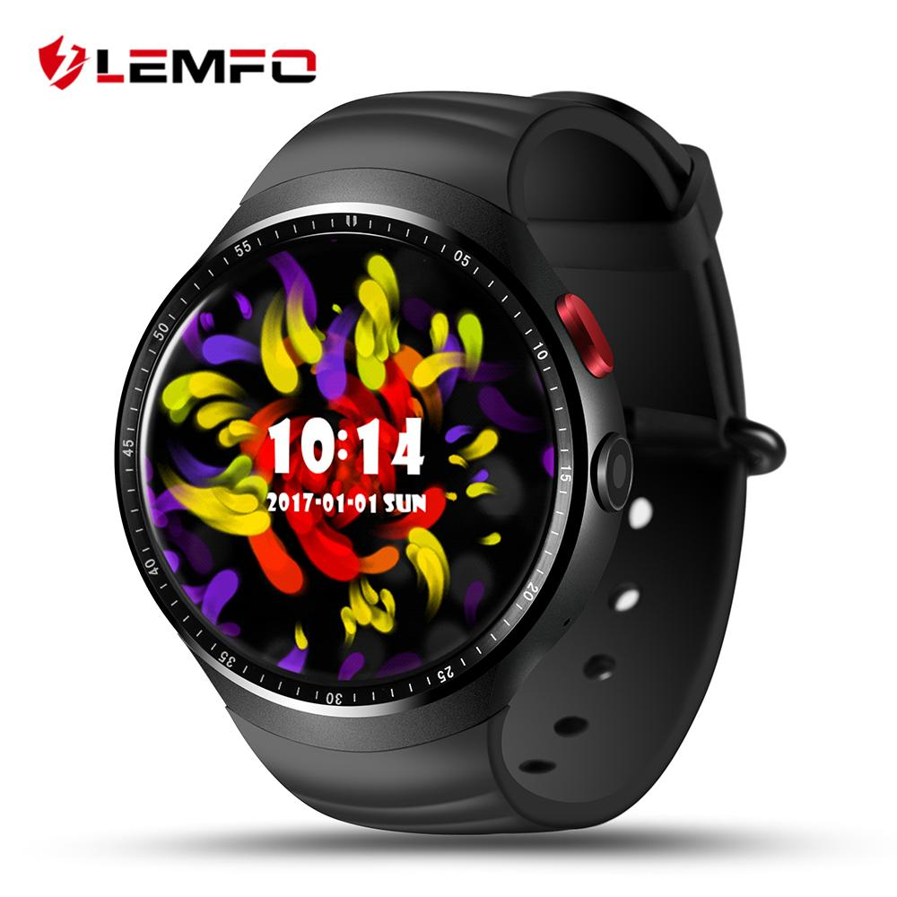 A smart watch camera LEMFO LES1 Android 5.1 MTK6580 1GB + 16GB