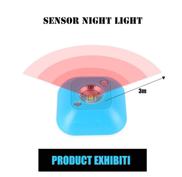 Sensory Night LED lamp with PIR sensor Toquimbo