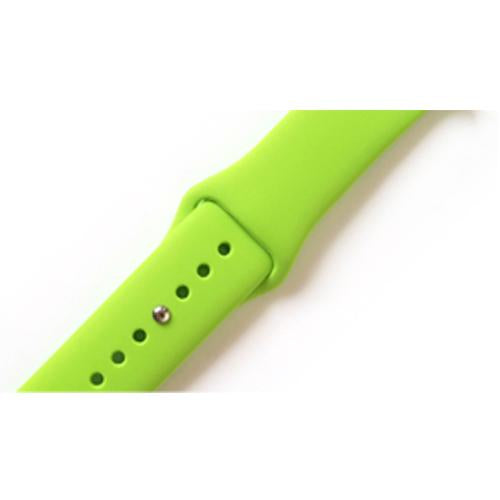 Silicone Strap Watch Apple 3/2/1 Series 38mm