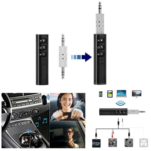 Bluetooth receiver for the car, headphones and home systems with buttons