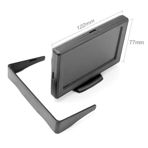 "Waterproof reversing camera with a monitor 4.3 ""TFT LCD"
