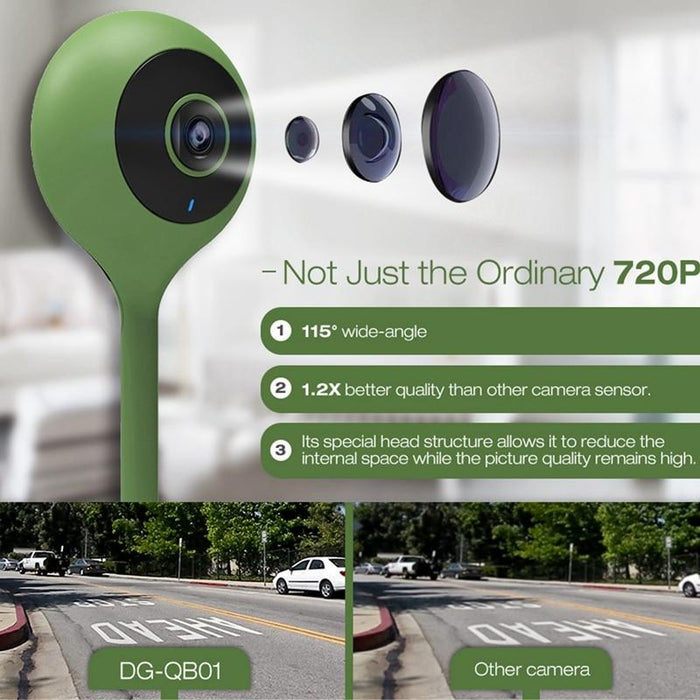 Smart IP Camera Digoo DG-QB01, Flexible, 720P, WIFi, Night Vision