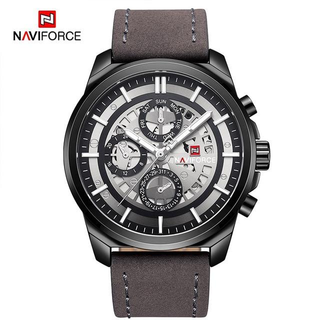 Waterproof male quartz watch NAVIFORCE 9129