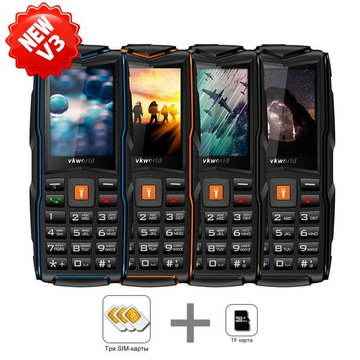IP68 waterproof mobile phone VKworld New Stone V3